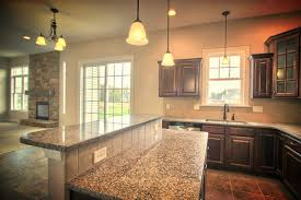 Granite Top Kitchen Island Breakfast Bar The Large Open Kitchen With Adjoining Breakfast Area Includes An