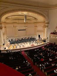 48 Expository Carnegie Hall Seating Chart Zankel Hall