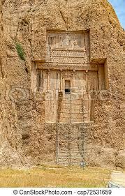 Naqsh-e rustam xerxes i tomb. The tomb of xerxes i at naqsh-e rustam an  ancient necropolis located about 12 kilometres of   CanStock