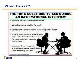 Good Questions To Ask In An Informational Interview 11 Informational Interviews