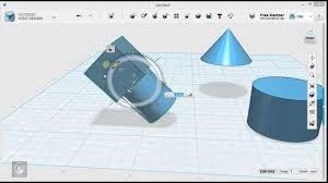 123d Design Basics 123d Design Tutorial Basics 3 6 Grouping Combining Subtracting Solids