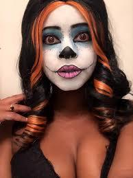 skelita monster high makeup test by dela doll cosplay