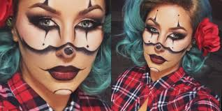 chola clown makeup for