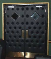 home theater doors. black double doors home theater o