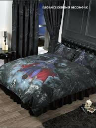 gothic duvet cover official licensed alchemy bedding the perfect addition to your bedroom or the perfect