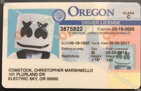 Oregon Id Scannable Maker Cards Id-chief Fake