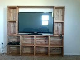 wooden crate ideas entertainment center