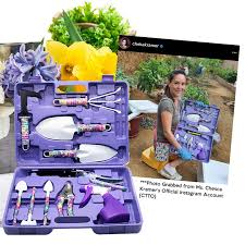 garden tool set 10 pcs purple lazada ph