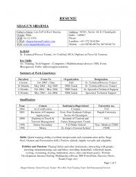 Prepare Resume Format For Study How To Write A Freshers Online