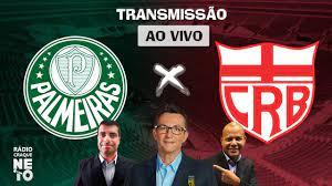 Palmeiras x CRB | AO VIVO | Copa do Brasil 2021 | Rádio Craque Neto -  YouTube