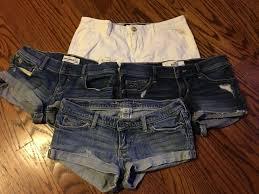Lot Of 4 Abercrombie Kids Hollister Girls Shorts Size 14