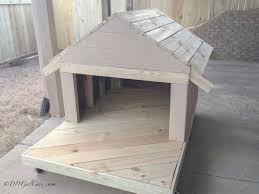 homemade dog kennels 2. DIY Dog House Homemade Kennels 2