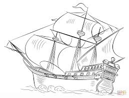 Small Picture Spanish Galleon coloring page Free Printable Coloring Pages