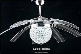 crystal chandelier ceiling fan. Ceiling Fan With Chandelier Crystal Fans Photo 6 Black .