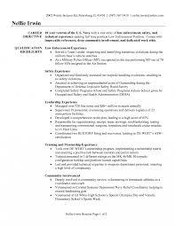 Veteran Resume Template Sample Lawnforcement Resume Templates Samples Curriculum Vitae 45