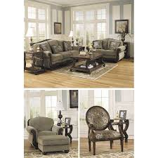 Taupe Living Room Furniture Meadow Taupe Sofa Jj 573 S Ashley Furniture 5730038 Afw