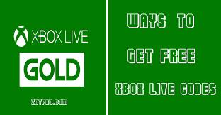 new list get free xbox live codes that work zotpad