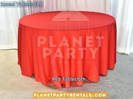 useful 60 inch round tablecloth c7318389 red tablecloth for round table