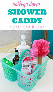 Shower Caddy For College Interesting College Dorm Shower Caddy Care Package Idea Bloggers' Best Home