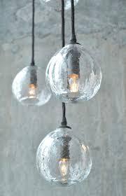 glass orb chandelier decorative inspired globe ceiling pendant