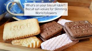 Slimming World Syns Chart Whats On Your Biscuit Table A Slimming World Printable