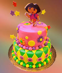 Dora Birthday Cake Topper Healthy Food Galerry