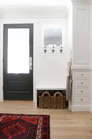 Built In Mudroom Before And After A Drab Kitchen Becomes Light And Bright