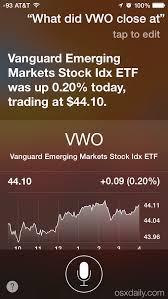 Siri Stock Quote