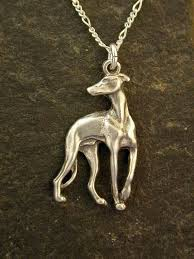 sterling silver greyhound dog pendant on a sterling by peteconder 54 00 dog jewelry greyhound dog