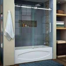 frosted glass shower doors s door cleaning partially