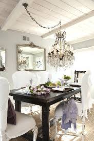 how to swag a chandelier swag chandelier over dining table awesome best for small room com
