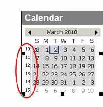 Week Number Calendar Show Week Numbers In Outlooks Calendar Techrepublic