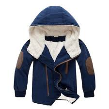 Digood For 2 7 Years Old Kids Teen Baby Boys Stylish Loose Jackets Warm Hooded With Fur Outerwear Winter Jacket Clothing