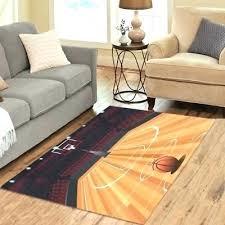 basketball court carpet fashion floor decorator area rug room half ba