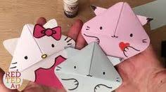 image result for origami bookmark kitten red ted art origami bookmarkorigami bookso