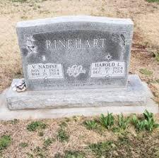 Vera Nadine Wolf Rinehart (1924-2014) - Find A Grave Memorial