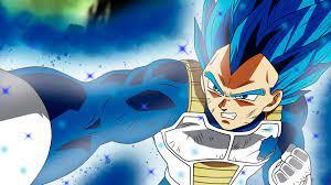 Anime Dragon Ball Super Vegeta SSJ Blue ...