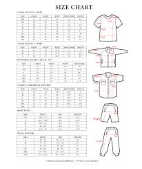 Lacoste Size Chart Jacket Rightway Size Chart T Shirt 2 U Online T Shirts Printing
