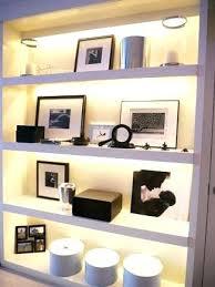 Alcove Lighting Shelving Ideas Led Lights For Shelves With Best