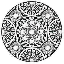 Mandala Coloring Online Advanced Mandala Coloring Pages Exquisite