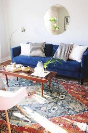 filled box cushion velvet sofa