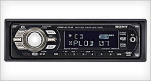enjoy driving your car new sony car audio mex dv2000