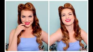 1940 s 50 s pinup hair and makeup