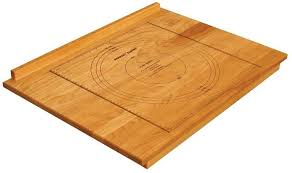 details about baking cookies cutting board reversible large baker pastry natural wooden board