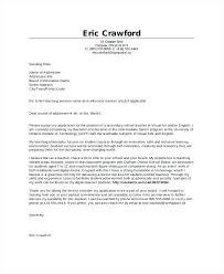 Example Cover Letters For Teachers Cover Letter For Teachers