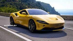 Ferrari Roma Supercar Design Study Looks Absolutely Gorgeous Autoevolution
