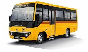 Yellow White For Staff Bus Use Ashok Leyland Mitr School