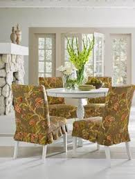 the casablanca rose dining chair slipcover will instantly bring a fresh spring style to the dining room or kitchen areas of the
