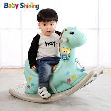 <b>Baby Shining</b> Kids <b>Rocking</b> Horse <b>Baby</b> Room Ride on Toys ...