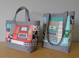 Patterns by Elizabeth Hartman — PERFECT QUILTED TOTES pdf sewing ... & Patterns by Elizabeth Hartman — PERFECT QUILTED TOTES pdf sewing pattern Adamdwight.com